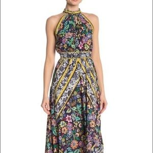 Eliza J Halter Handkerchief Dress Sz 18